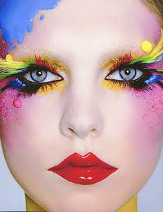 Lucy in the sky with diamonds???Fantasy Makeup Ideas 2012