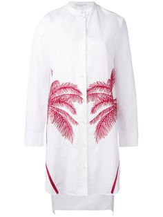 Stella McCartney palm embroidered long shirt .