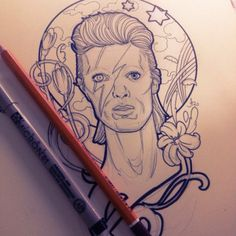 David bowie tattoo bowie tattoo and david bowie on pinterest for Bowie tattoo ideas