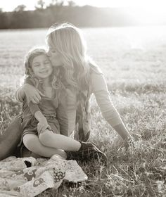 Mother and daughter. I want a photo like this of me with my daughter someday!