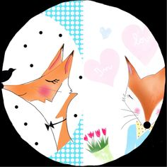 Fox rose moustache Rose Moustache, Playing Cards, Fox, Pink Cards, Playing Card Games, Foxes, Game Cards, Playing Card