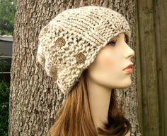 Knitting Pattern  Knit Hat Knitting Pattern PDF for by pixiebell, $5.00