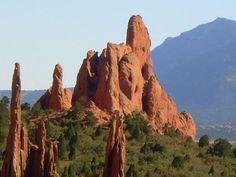 Garden of the Gods, Colorado Springs, CO ~ So awesome.