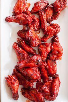 Sticky Tandoori Spiced Chicken Wings recipe.