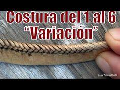 """Costura de borde del 1 al 6 (variación) """"El Rincón del Soguero"""""""