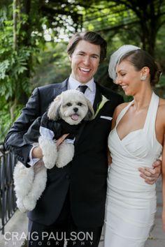 Lisa & Kevin - Craig Paulson Photography 2013 - NYC Wedding Photographer #dog #puppy #bride #groom #wedding #newyork #love
