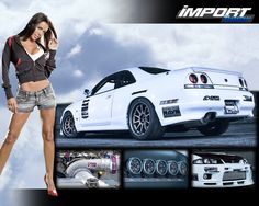 Skyline GTR and Import Tuner, love her too!!