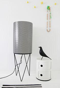 Pedrera Floor Lamp, PD2 // Gubihttp://decdesignecasa.blogspot.it/