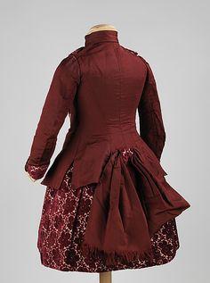 Dress, 1886, French