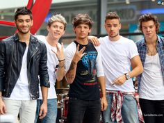 One Direction on GMA