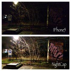 Test af app - til fotoshoot i mørke