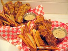 Old Fashioned Diner Food - Steak Fingers Recipe - Miz Helen's Country Cottage