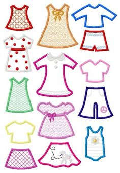 Paper Doll Collection - Shari Marie Creations