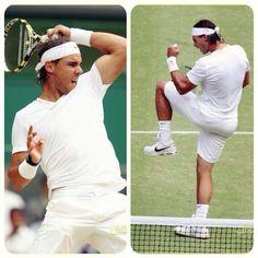 RAFA!!!! Wimbledon 2014 #Nadal Tennis Tournaments, Tennis Players, Rafael Nadal, Arthur Ashe, Someone Like You, Wimbledon, Role Models, Athletes, Persona