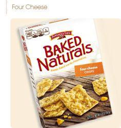 Pepperidge Farm® - Baked Naturals® Cheese Crisps- Four Cheese Medley
