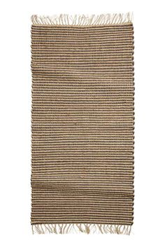 Natural Jute Rug With Black Stripes Rugs Bedroom Zara Home United States Of America Pinterest Bedrooms And Kitchens