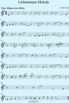Franz Liszt Liebestraum for Beginner