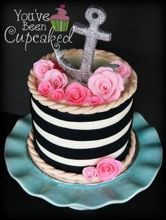 Anchors Aweigh Wedding Cake