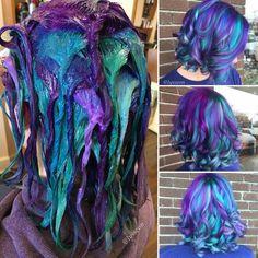1000+ ideas about Rainbow Hair on Pinterest   Hair, Dyed Hair and ...