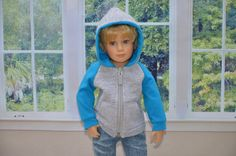 Hoodie for Kidz n Cats  doll. by Symidollsclothes on Etsy