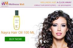 Nayra Hair Oil 100 ML- Wellness Mall Visit http://goo.gl/pA1hrt Tel : 9022044002 Price : ₹500.00 Sold by: AAAAA Group SKU: BOPL - 009. Category: Oil & Balm