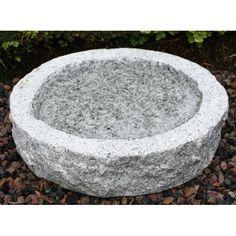 Granit fågelbad från vattenliv.nu