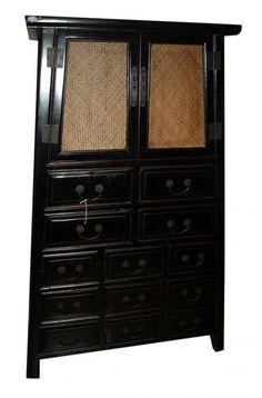 2 Door 13 Drawer Cabinet