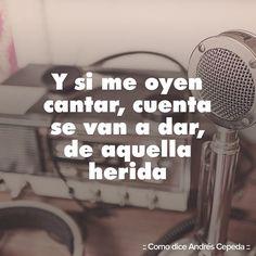 Este mensaje fue compartido vía Andrés Cepeda Rock Bottom, Clarity, Decir No, Spanish, Beans, Cool Stuff, Quotes, Image, Instagram