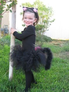 Kitty costume - katelynn will be a cat this year for gabbys witch