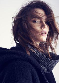 Twist & Tango Fall/Winter 2015 / Cornelia Turtleneck - Ester Jacket / Photographer Nils Odier / Stylist Pamela Bellafesta / Hair & Make Up Sofia Ringberger / Agency Agent Bauer / Model Dalia Gunther - Elite Models