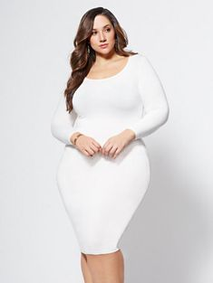 Shop FTF Signature - Everyday Midi Dress. Find your perfect size online at the best price at New York & Company.