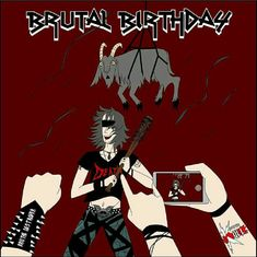 Rock, Birthday, Metal, Movie Posters, Movies, Art, Art Background, Birthdays, Films