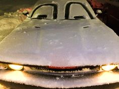 Snow + Fun + glove covered hands + an ounce of silly = a car with a personality... Introducing Komater