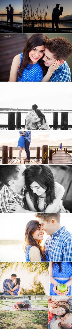 real white rock lake engagement