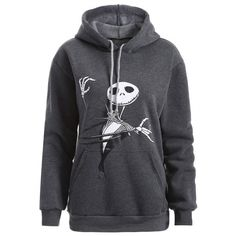 21.53$  Buy now - http://di7ds.justgood.pw/go.php?t=198159102 - Plus Size Halloween Ghost Print Hoodie