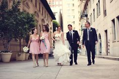 The best wedding party is a small wedding party that has fun together! - Lukas VanDyke Photography #weddingpics