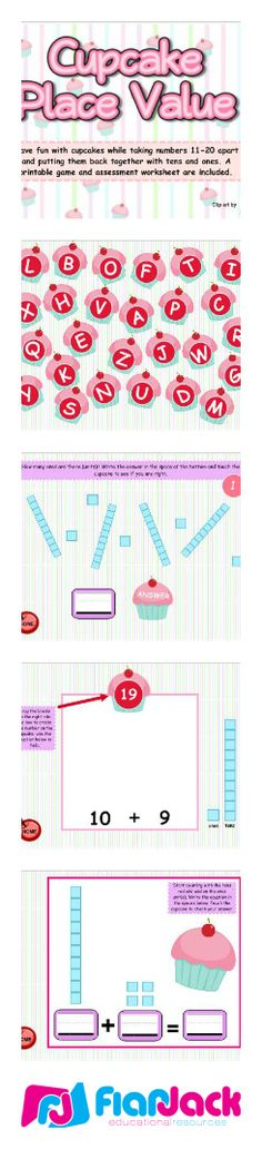 Smart Board FREEBIE for covering the early elementary basics of place value- smart board game Smart Board Activities, Smart Board Lessons, Math Activities, Math Games, Math Classroom, Kindergarten Math, Teaching Math, Math Place Value, Place Values