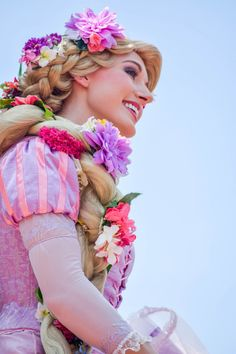 take-me-to-disney-world:   	Rapunzel by Meaghan Kelly    	Via Flickr:
