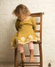 Robes en maille coton bio bebe enfant little green radicals
