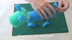 Easy pool noodle sculptures - Kidspot
