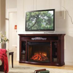 Media Fireplace Fireplaces And Cherries On Pinterest