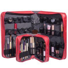 My travel makeup bag: The Muji Vanity make up box | Travel ...