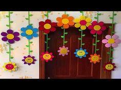 Classroom decoration ideas paper craft ideas for classroom decoration english classroom design ideas high school Decoration Creche, Class Decoration, School Decorations, Diy And Crafts, Crafts For Kids, Arts And Crafts, Paper Crafts, Diy Paper, Art N Craft