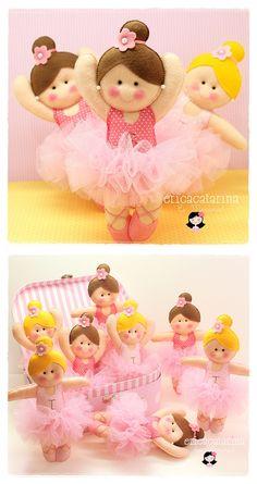 ♥...* Sweet & Lovely as always ♥...* Super cute little ballerinas by Erica Catarina