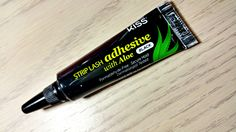 Kiss Strip Lash Adhesive with Aloe Black (Best eyelash glue I've found yet! I can leave eyelashes on for days! Dries quick too)