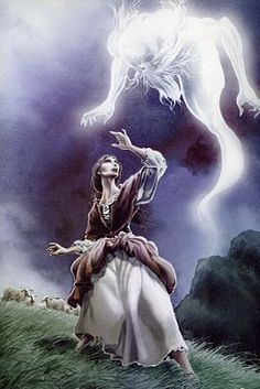 Gaueko- Basque myth: a spirit of the night. he punishes those who claim to not fear the darkness of the night.