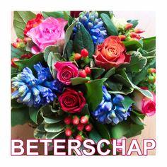 Design Get Well Soon Card / Beterschapskaart by Creagaat www.kaartje2go.nl