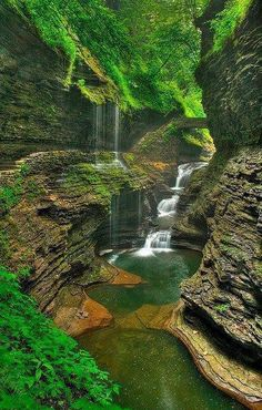 Watkins Glen State Park- New York state USA