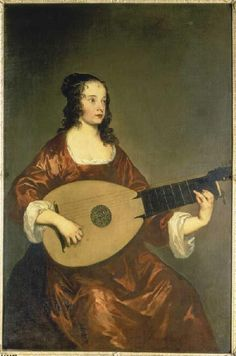 Lely, Sir Peter The lute player