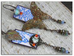 Boucles d'oreille bohèmebohoHippieLe Papillon par rareetsens, €64.00